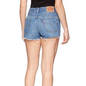 Levi's Shorts - Levi's 501 Festival Distressed Cutoff Shorts